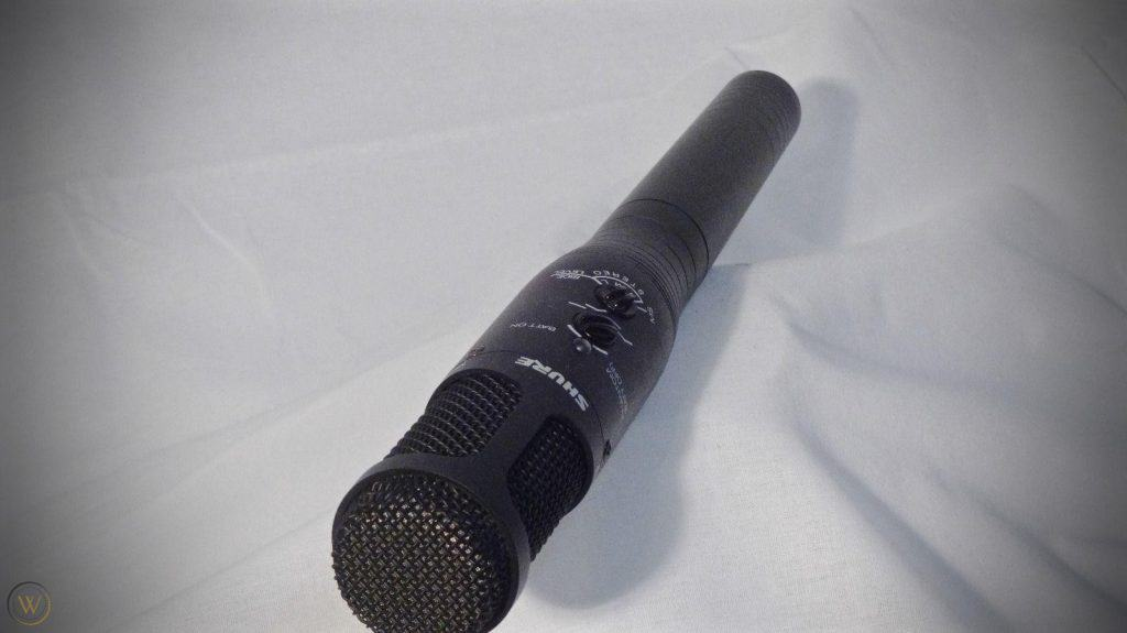 Shure Vp88 Mid Side Stereo Microphone