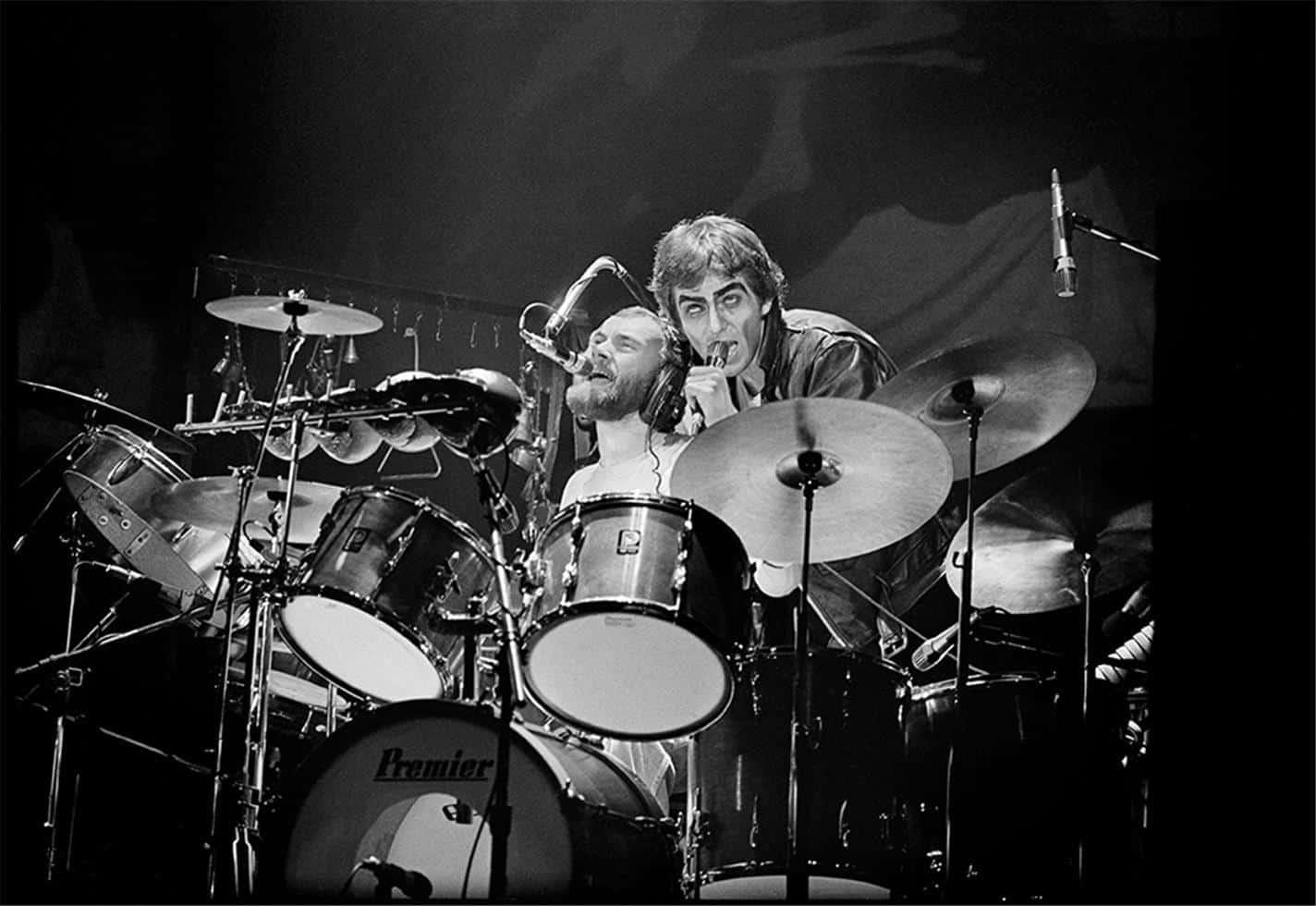 Genesis Peter Gabriel And Phil Collins