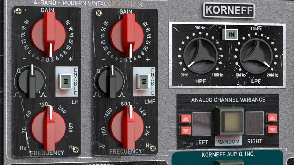 Amplified Instrument Processor (the AIP) eq area