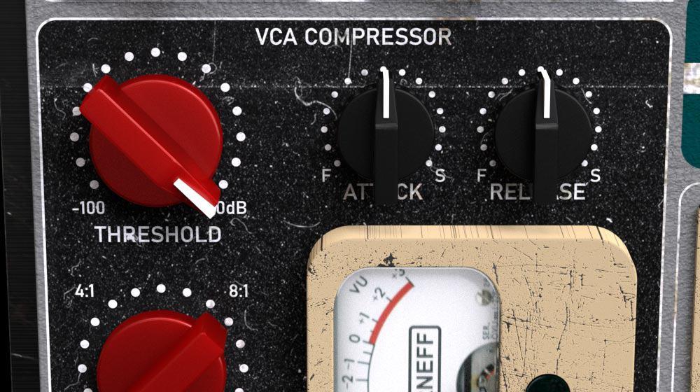 Amplified Instrument Processor (the AIP) VCA compressor