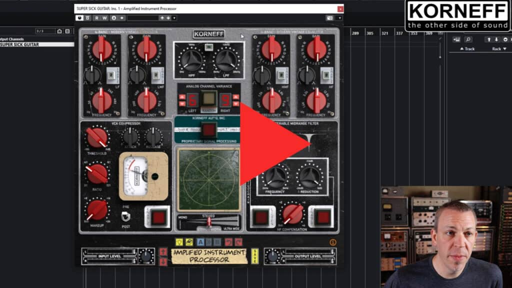 Amplified Instrument Processor (the AIP) video walkthrough poster