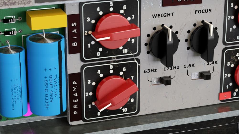 Pawn Shop Comp Tube Preamp Controls